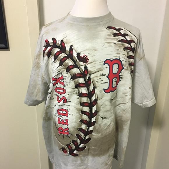 11b55620f85 Boston Red Sox Hardball Tie Dye T Shirt